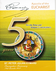 Cover of Canonization anniversary 50 years