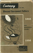 Cover of Centenary of the Blessed Sacrament Fathers:1856-1956.