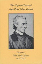 Cover fo Life and letters of Saint Peter Julian Eymard
