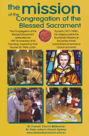 Cover of The mission of the Congregation of the Blessed Sacrament.