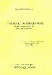 "Cover of ""The hour"" of the cenacle in the life and works of Peter-Julian Eymard."