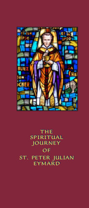 Cover of The Spiritual Journey of St Peter Julian Eymard