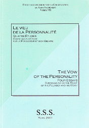 Cover of The Vow of the Personality