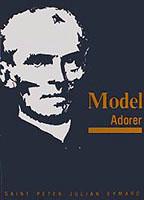 Cover of Saint Julian Eymard: Model adorer.