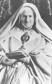 Photo of Mother Marguerite Guillot.
