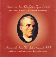Cover of Novena with Saint Peter Julian Eymard, SSS: For prayer in the presence of the Blessed Sacrament