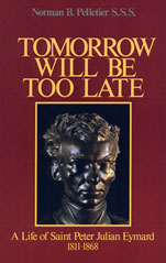 Cover of Tomorrow will be too late.