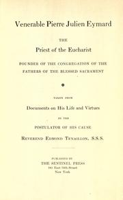 Book cover for Venerable Pierre Julien Eymard