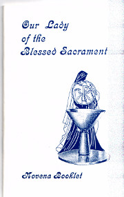 Cover of Our Lady of the blessed sacrament
